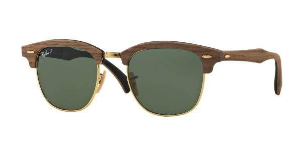 RAY-BAN Clubmaster Wood 0RB3016M